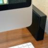 iMacに接続した外付けHDD