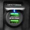 RAVPOWERの2ポート車載急速USB充電器