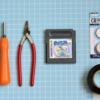ゲームボーイカートリッジの内臓リチウム電池を交換する為の道具
