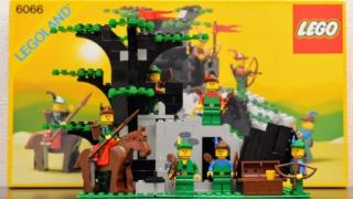LEGO 6066 森のかくれ家